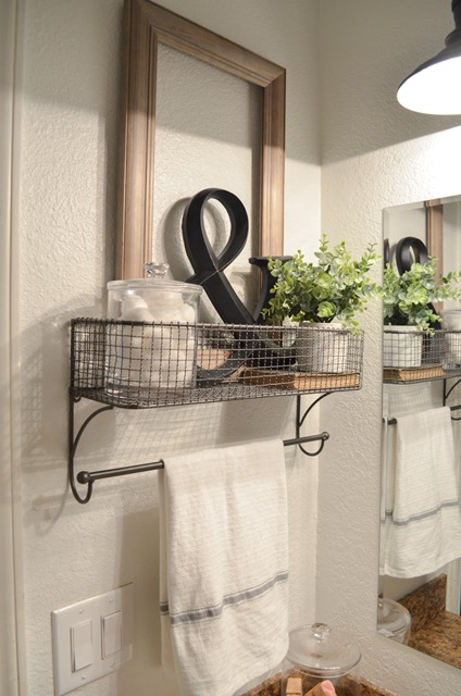 Farmhouse Wall Towel Rack