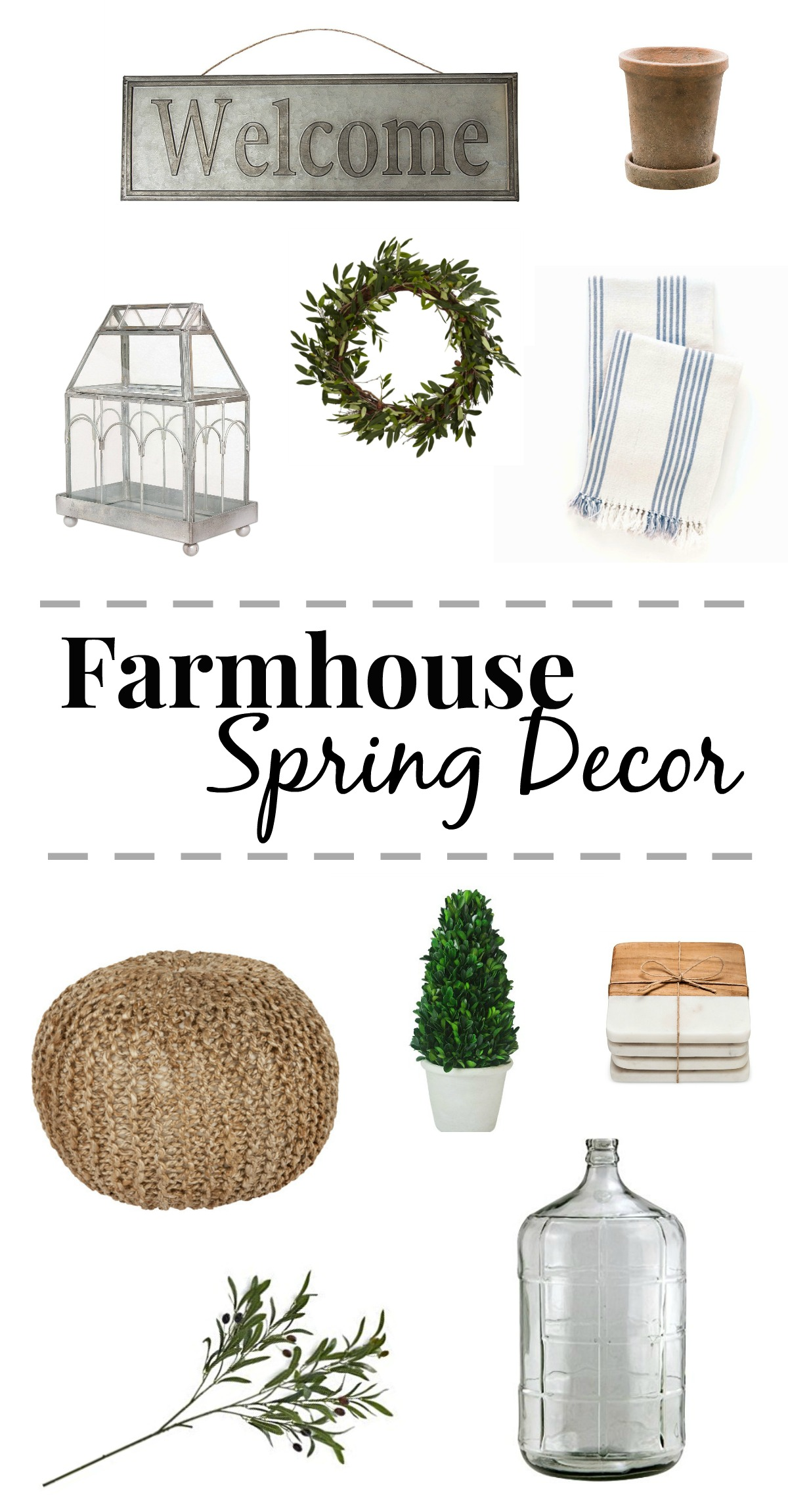farmhouse spring decor