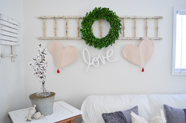 farmhouse valentine banner